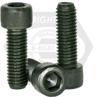 "#0-80x3/4"",(FT) SOCKET HEAD CAP SCREWS FINE ALLOY THERMAL BLACK OXIDE"