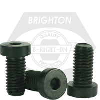 "#10-24x3/4"" LOW HEAD SOCKET CAPS COARSE ALLOY THERMAL BLACK OXIDE"