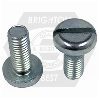 M4-0.70x10 MM 4.8 DIN 85, PAN SLOT MACHINE SCREW ZINC