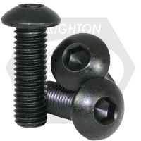 "#0-80x1/8"",(FT) BUTTON SOCKET CAPS FINE ALLOY THERMAL BLACK OXIDE"