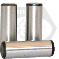 "3/8""x3"" DOWEL PINS ALLOY THRU HARDENED"