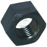 "9/16""-12 HEX NUTS GRADE 8 COARSE MED. CARBON"
