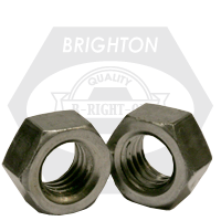 "1 1/4""-12 HEX NUTS FINE LOW CARBON"