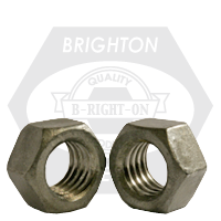 """3/8""""-16 HEX NUTS COARSE LOW CARBON HDG"""
