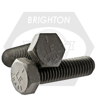 "1 1/2""-6x10"",(PT) HEX CAP SCREWS GRADE 5 COARSE MED. CARBON PLAIN USA"