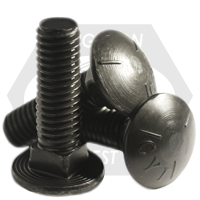 "3/8""-16x1 1/4"" CARRIAGE BOLTS GRADE 5 COARSE PLAIN"