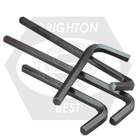 "3/16"" HEX KEYS ALLOY 8650 LONG ARM U.S.A."