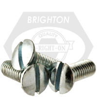 "#10-32x1/2"",(FT) MACHINE SCREW OVAL HEAD SLOTTED FINE ZINC CR+3"
