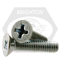 "1/4""-20x1"",(FT) FLAT HEAD PHIL MACHINE SCREW FLAT HEAD PHILIPS ZINC CR+3"