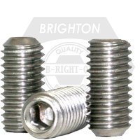 """#0-80x3/8"""" UNF CUP POINT SOCKET SET SCREWS CUP POINT FINE STAINLESS A2 18-8"""