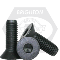 "#0-80x3/4"",(PT) FLAT SOCKET CAPS FINE ALLOY THERMAL BLACK OXIDE"
