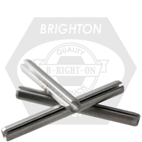 M10x16 MM SPRING PINS MED. CARBON BLACK OXIDE