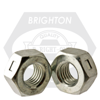 "7/8""-14 REVERSIBLE LOCKNUTS LOW CARBON ZINC CR+3"
