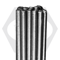 """1 1/2""""-6x3' B8 304 STAINLESS ALL THREAD RODS ASTM A193 CLASS 1"""