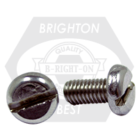 M8-1.25x60 MM,(FT) DIN 85, PAN SLOT MACHINE SCREW A2