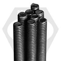 "3/8""-16x12' F1554 GRADE 36 THREADED ROD, PLAIN"