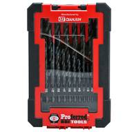 21 Piece M2 HSS Jobber Drill Bit Set (Box Case) PROFERRED HSS DRILL BIT SETS