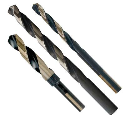 "3/8"" (0.375) JOBBER 135DEG M2 HSS Black and Gold PROFERRED M2 HSS BLACK AND GOLD DRILL BIT"