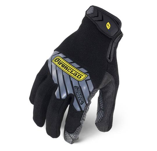 S - Pro Touch Reinforced Black   IEX-MPRE-02-S   IRONCLAD COMMAND SERIES GLOVES