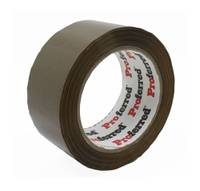 2inx110yd(100m), 1.6 mil, Hot Melt-Brown PROFERRED PACKAGING TAPE