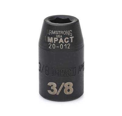 "3/8"" IMPACT 6 Point SAE USA IMPACT 1/2"" DRIVE SAE SOCKET"