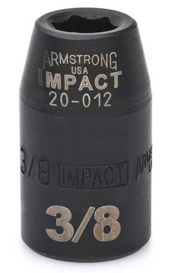 "1/2"" IMPACT 6 Point SAE USA IMPACT 1/2"" DRIVE SAE SOCKET"