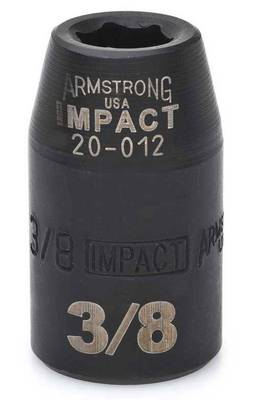 "1 1/8"" IMPACT 6 Point SAE USA IMPACT 1/2"" DRIVE SAE SOCKET"