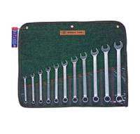 "11 Piece (3/8"" - 1"") 12 pt USA COMBINATION WRENCH SET"