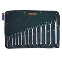 "14 Piece (3/8"" - 1 1/4"") 12 pt USA COMBINATION WRENCH SET"